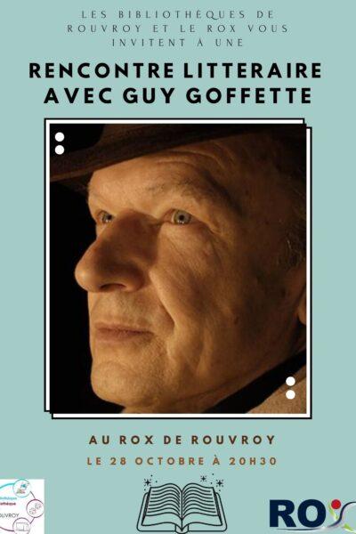Rencontre littéraire avec Guy Goffette (1)